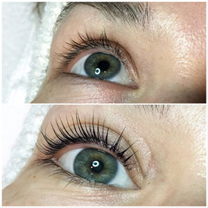 YUMI Lash Lift Maria close up May 2018 Beauty Time Spa