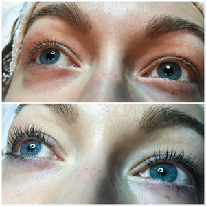 YUMI Lash Lift front view close up May 2018 Beauty Time Spa
