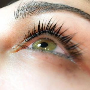 YUMI Lash Lift, close up